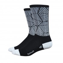 "DEFEET Sock Aireator 6"" Craze Black White"