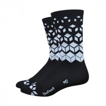"DEFEET Sock Aireator 6"" On The Rocks Black White"