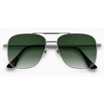 Alba Optics ferro fietsbril zilver - vzum leaf lens