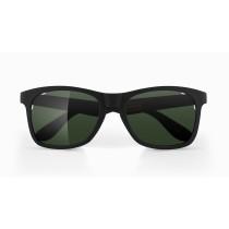 Alba Optics anvma bril zwart - vzum leaf lens