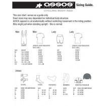 Assos Size Chart