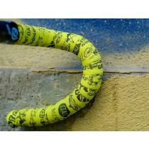 BIKE RIBBON Dafne Cork Stuurlint Acid Yellow