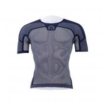Megmeister drynamo ondershirt met korte mouwen navy blauw