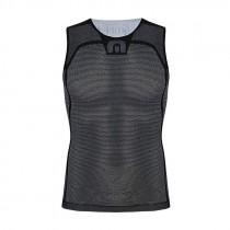 Megmeister drynamo ondershirt zonder mouwen charcoal zwart