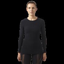 Megmeister drynamo dames ondershirt met lange mouwen zwart