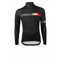 Vermarc belgica sp.l fietsshirt met lange mouwen zwart