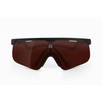 Alba Optics delta fietsbril zwart - vzum pou lens