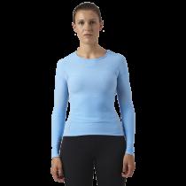 Megmeister drynamo dames ondershirt met lange mouwen lichtblauw