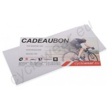 Cyclewear Cadeaubon 100 Euro