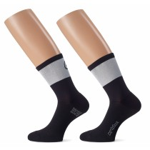 ASSOS Cento Evo 8 Sock Black Series