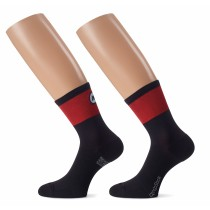 ASSOS Cento Evo 8 Sock National Red