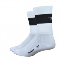 DEFEET Sock Aireator Team Defeet White Black