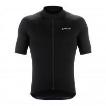 De Marchi classica fietsshirt met korte mouwen zwart