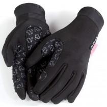 De Marchi cortina fietshandschoen zwart