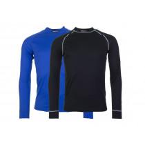 CRAFT Active Shirt LM Multi 2-Pack Black Sweden Blue