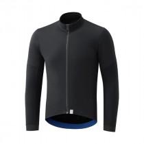 Shimano wind evolve fietsshirt met lange mouwen zwart