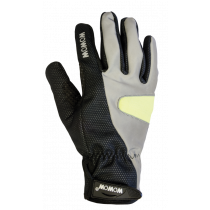 WOWOW Cycle Gloves 2.0 Black Reflective