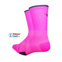 DEFEET Sock Cyclismo 5 Hi-Vis Pink
