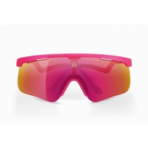 Alba Optics delta candy fietsbril fuchsia - vzum lava lens