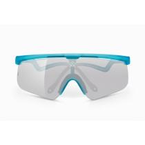 Alba Optics delta candy fietsbril roy blauw - vzum mr alu lens