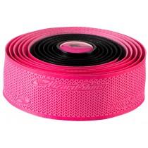 LIZARD SKINS DSP 2.5mm Dual Color Stuurlint Black Neon Pink