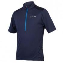 Endura Hummvee korte mouw shirt - Navy Blauw