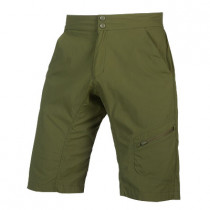 Endura Hummvee Lite Short With Liner - Olive Green