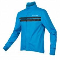 Endura pro sl shell fietsjack hi-viz blauw