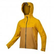 Endura MT500 waterproof fietsjack mustard geel