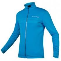 Endura pro sl thermal windproof II fietsjack hi-viz blauw