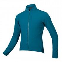 Endura pro sl waterproof softshell fietsjack kingfisher blauw