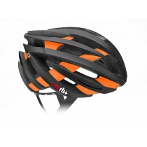 RH+ Helm ZY Matt Black Bridge Matt Orange