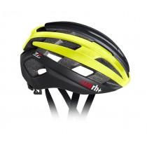 RH+ Helm Z Epsilon Matt Black Shiny Yellow Fluo