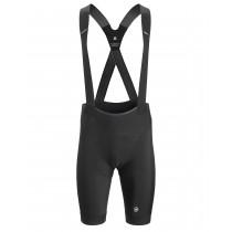 Assos equipe rs S9 korte fietsbroek met bretels blackseries zwart