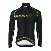 Vermarc Forza Fietsshirt PR.R Lange Mouw Zwart