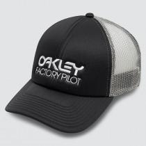 Oakley Factory Pilot Trucker Hat - Blackout