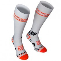 COMPRESSPORT Full Socks White V2