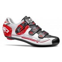 SIDI Genius 7 White Black Red Race Fietsschoen