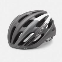 Giro foray fietshelm mat titanium grijs wit