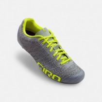 Giro empire E70 knit race fietsschoenen grijs geel