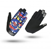 GripGrab Rebel Youngster Glove Blue Camo
