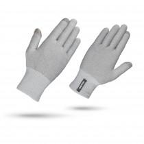 Gripgrab merino liner fietshandschoen grijs