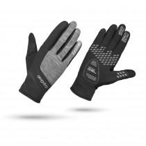 Gripgrab hurricane dames fietshandschoen zwart grijs