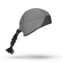Gripgrab windproof skull cap dames muts grijs