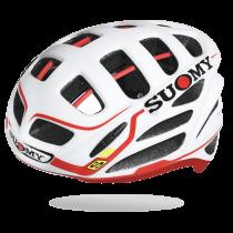 Suomy gun wind S-line team fietshelm wit rood