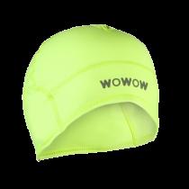 Raceviz headwarmer muts fluo geel