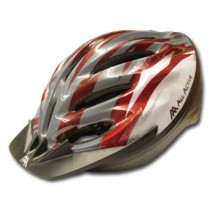Helm mod 015 red/white