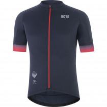Gore Wear Cancellara Jersey Mens - Orbit Blue/Red