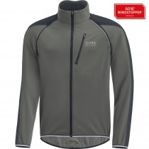 GORE BIKE WEAR Phantom Plus Gore Windstopper Zip-Off Jacket Castor Grey Black