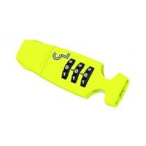 LAZER Cappuccino Lock Flash Yellow